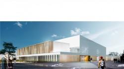 Reconstruction lycée Varoquaux Tomblaine en Meurthe-et-Moselle