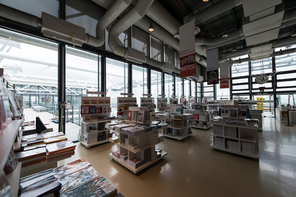 Librairie FLAMMARION du Centre Beaubourg à Paris