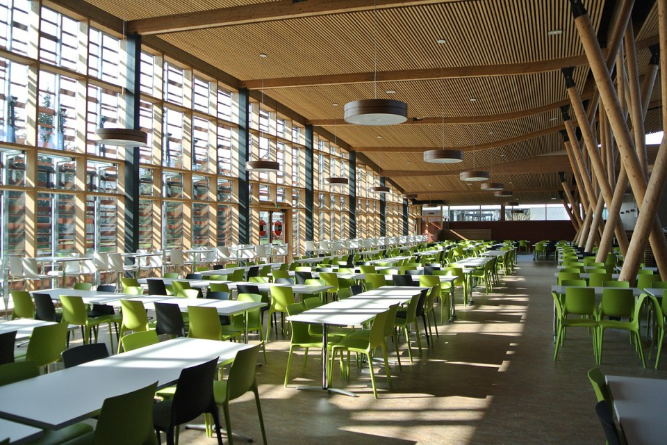 RU de Metz Technopôle, salle de restauration