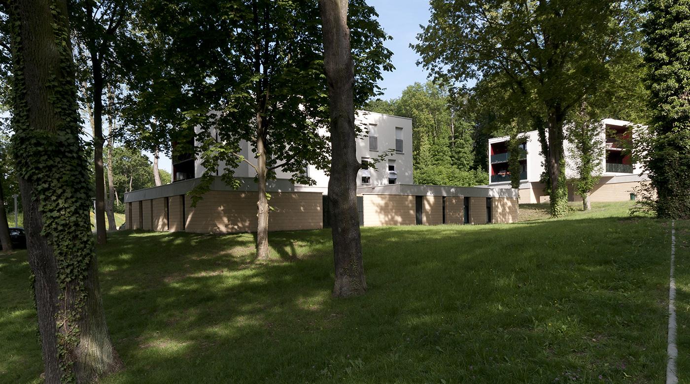 Construction de logements à Metz Bellecroix