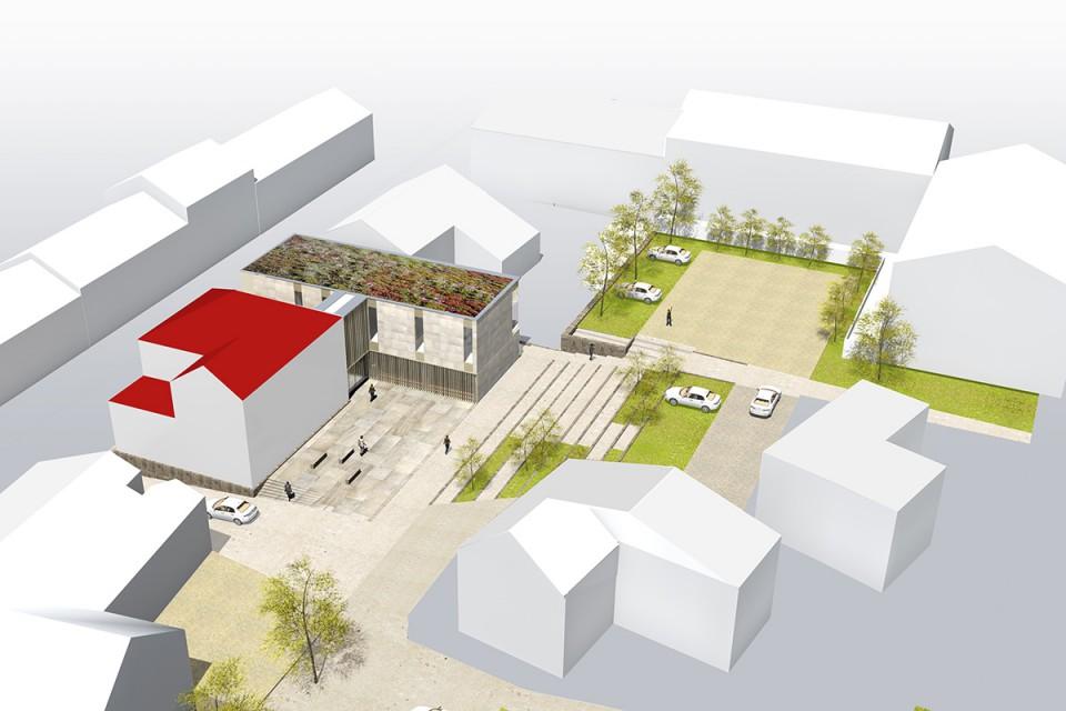 Plan Extension mairie de Cocheren