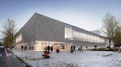 Concours pour la reconstruction du gymnase Jean Burger à Thionville