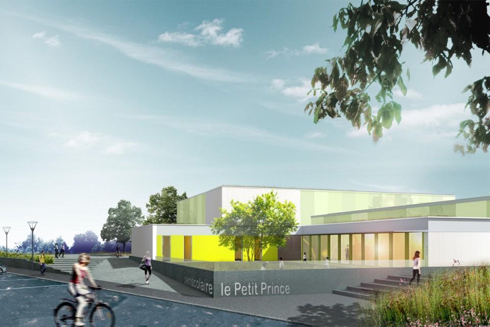 Concours pour la construction d'une salle de sport et périscolaire à Fameck
