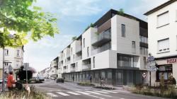 Projet de construction de logements BBC dans le centre de la commune de Hagondange