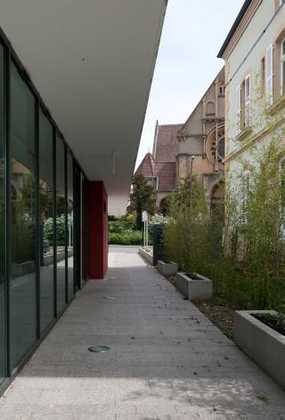 Mairie de quartier de Metz Queuleu