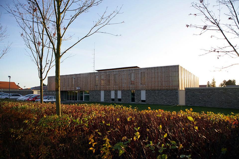 Hôtel de police à Briey