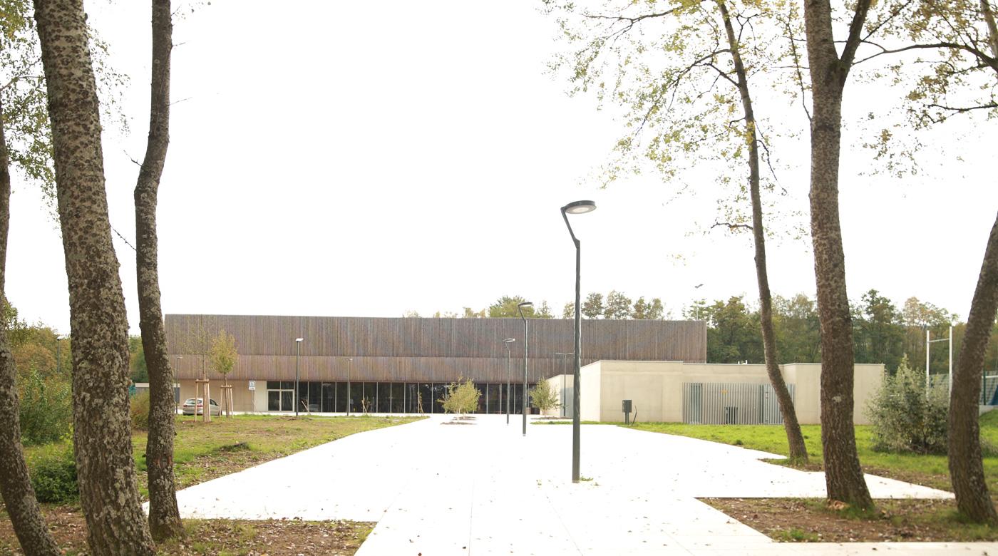 salle de spectacles à Stiring-Wendel en Moselle