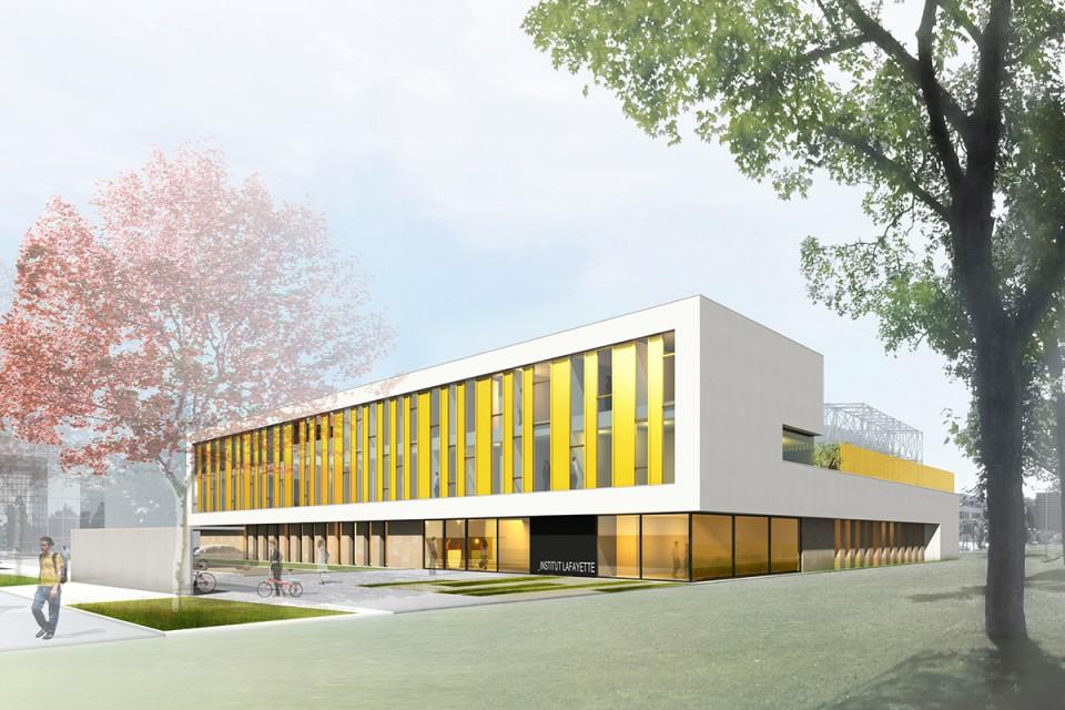 Perspective Institut Lafayette Metz