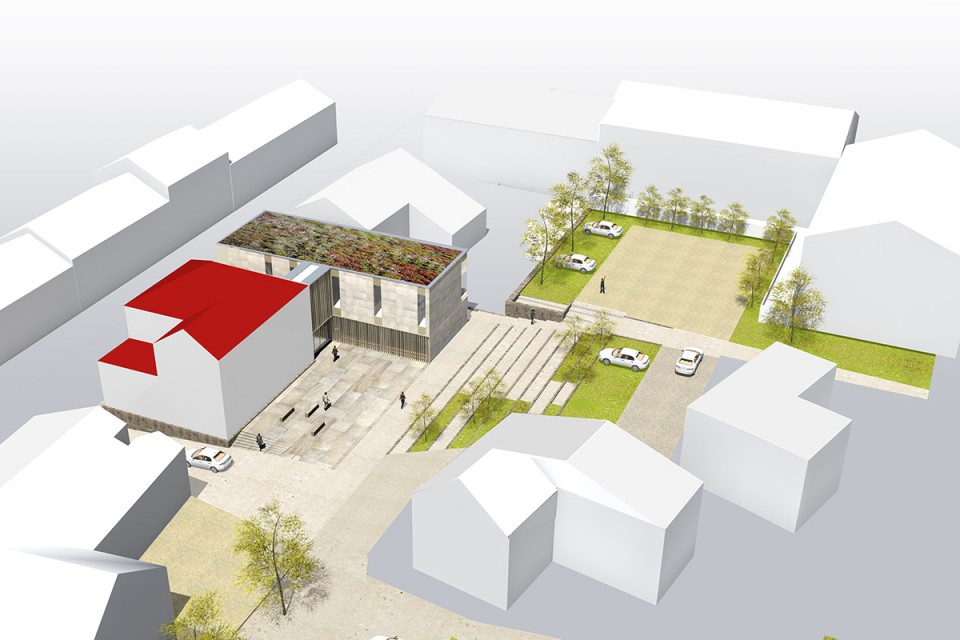 Plan Extension mairie de Cocheren