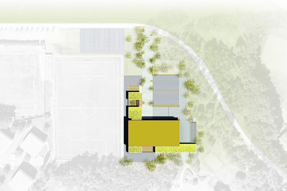 Plan de masse Salle de spectacle de Stiring-Wendel
