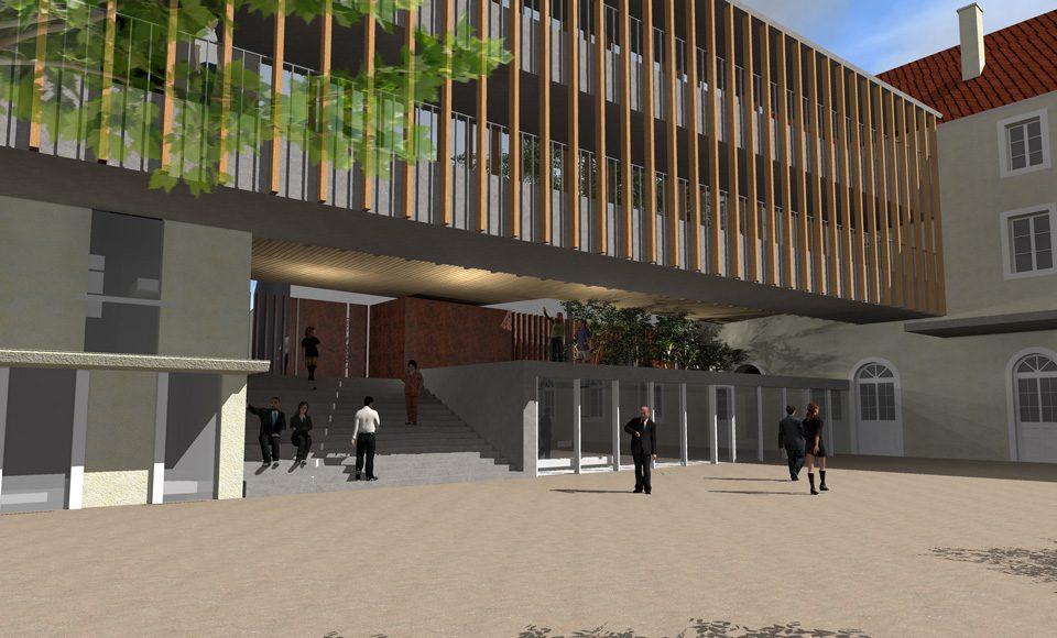 Restructuration du site des Oratoriens du Lycée Friant à Poligny