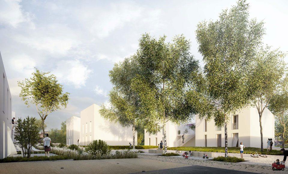Projet pour la caserne de gendarmerie à Ennery