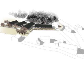 CONSTRUCTION D'UNE MAISON RURALE POUR PERSONNES AGÉES À DABO AVEC DEMATHIEU & BARD