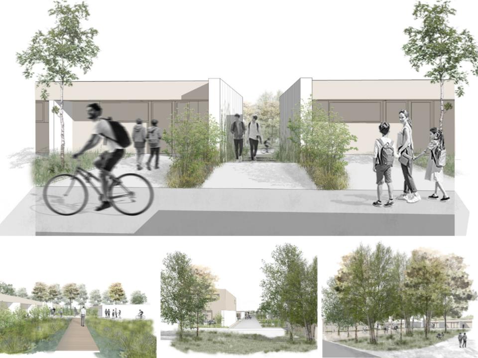 projet de logements pour l'Office Métropolitain de l'Habitat