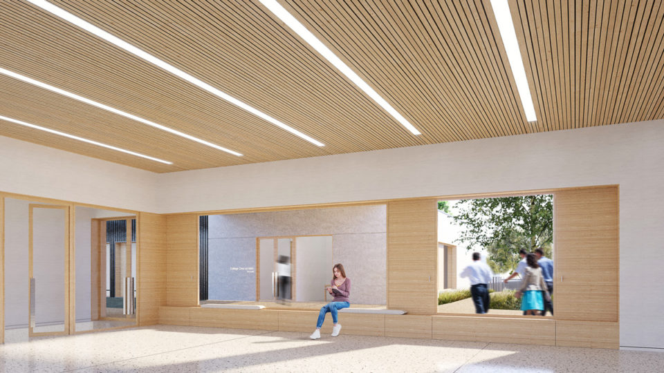 Salle polyvalente du collège de Toul