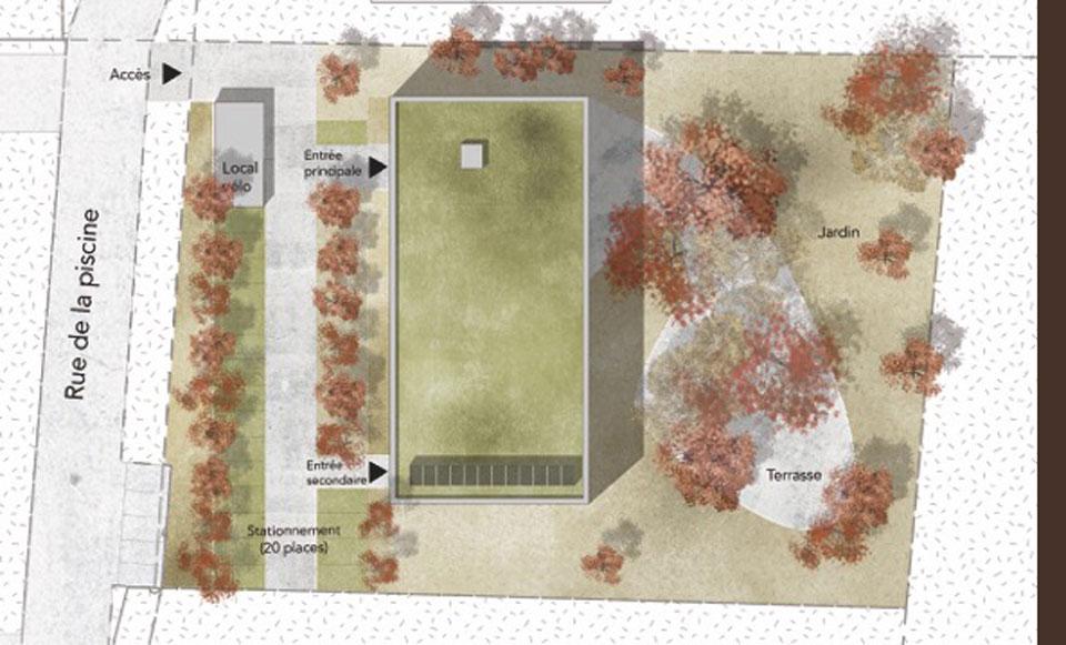 Construction d'un un foyer pour personnes en situation de handicap à Faulquemont
