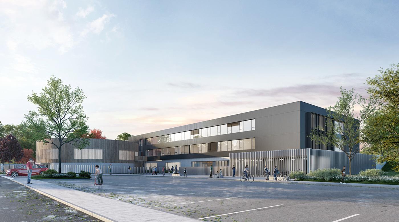 Reconstruction du collège de Fontoy