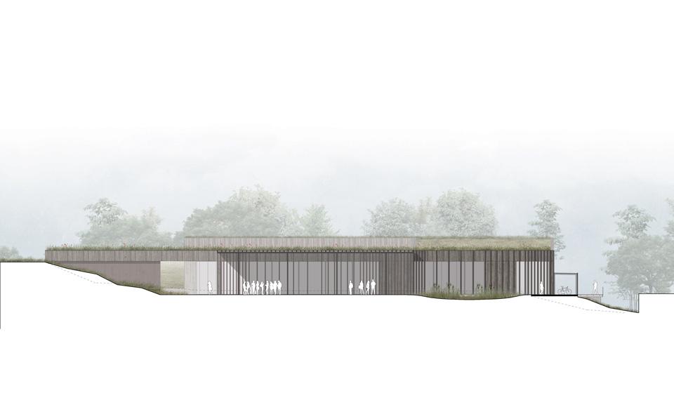 Projet de construction du Restaurant Universitaire Illberg à Mulhouse Haut-Rhin