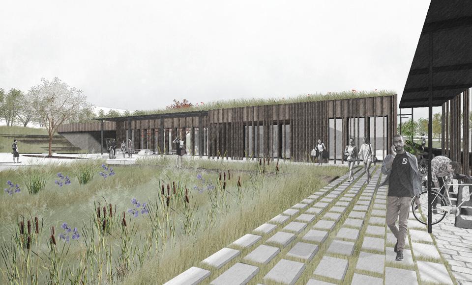 Projet de construction du Restaurant Universitaire Illberg à Mulhouse