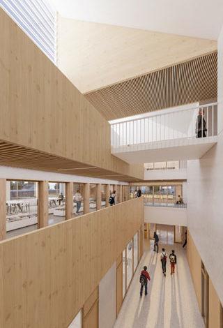 college-Eckbolsheim-atrium