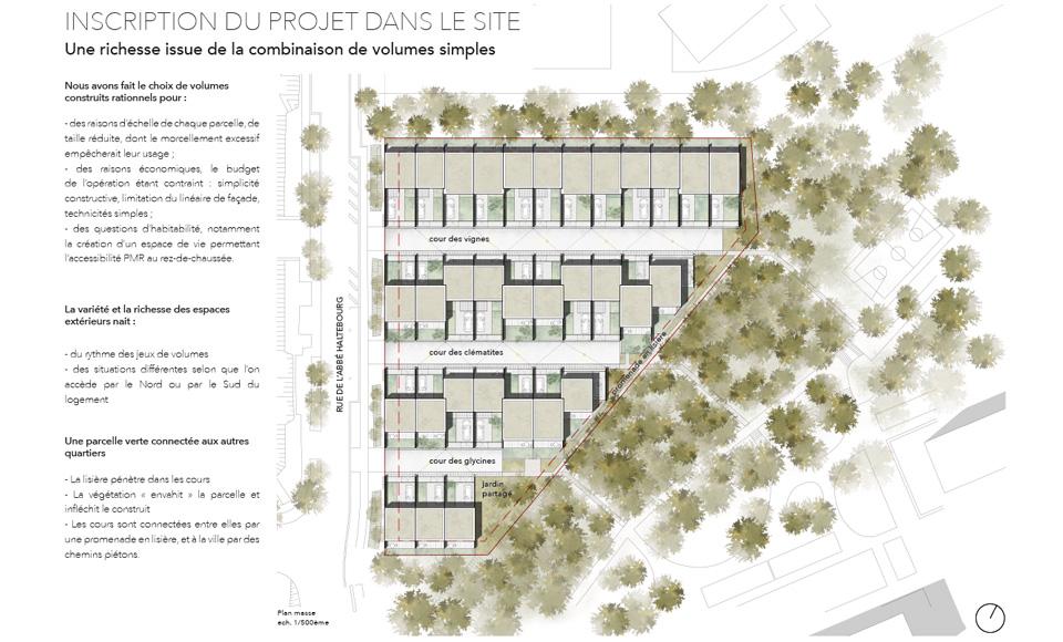 Projet de logements pour l'OMH à Nancy