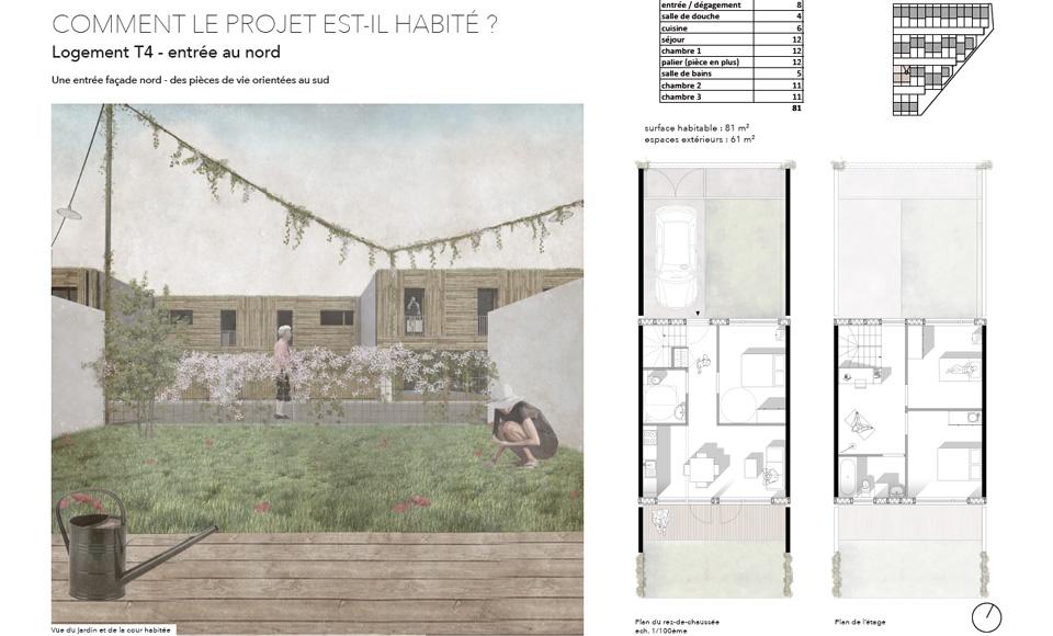 Projet de construction de 32 logements sociaux à Nancy