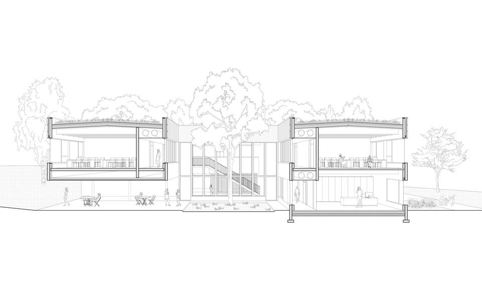 Projet de construction pour le pôle formation de Behren-lès-Forbach