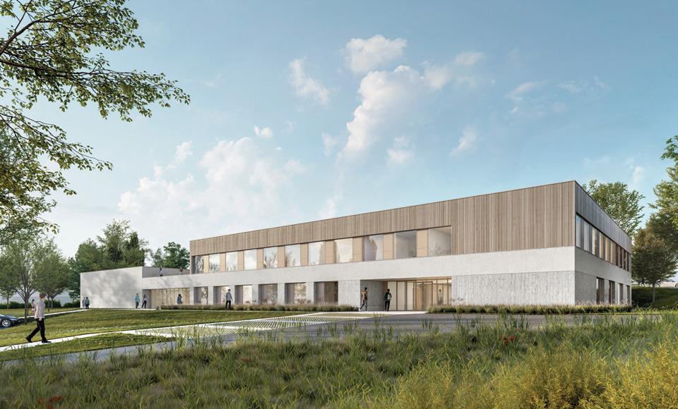Projet de construction pour le pôle formation de Behren en Moselle